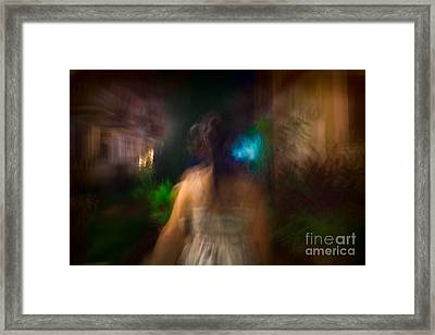 There She Was Framed Print