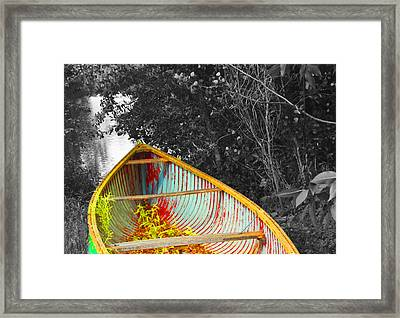 There Was A Day Framed Print by John Stuart Webbstock