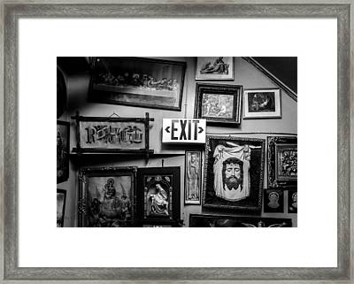 There Was None Framed Print by Bob Orsillo