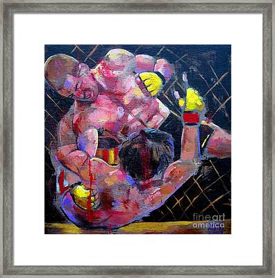 Framed Print featuring the painting There Will Be Blood by Robert Phelps