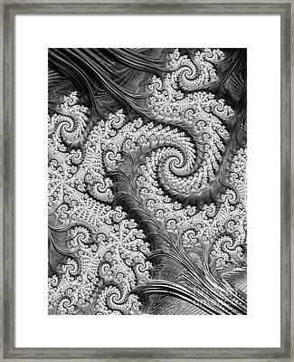 There's A Chill In The Air  Framed Print
