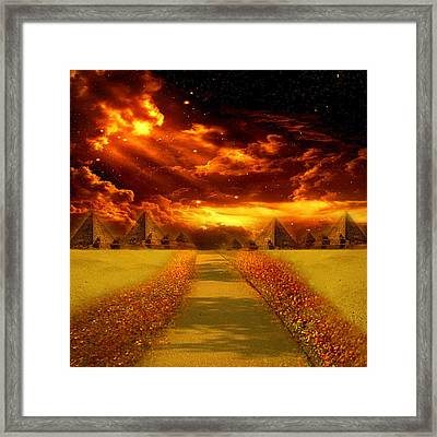 There's Always A Way Framed Print by Ester  Rogers