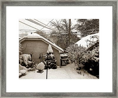 There's No Place Like Home Framed Print by David Blank