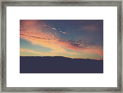 There's Only Here And Now Framed Print