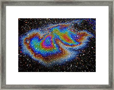 Thermal Flow Framed Print