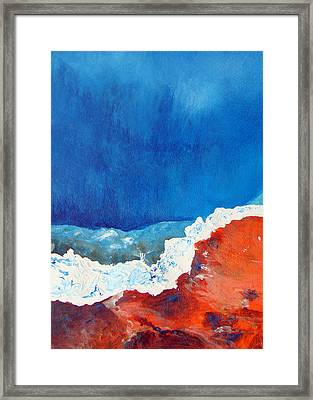 Thermal Shift Framed Print by Abbie Groves