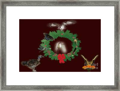 These Are A Few Of My Favorite Things 2 Framed Print by Donna Brown
