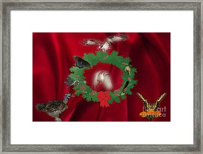 These Are A Few Of My Favorite Things Framed Print by Donna Brown