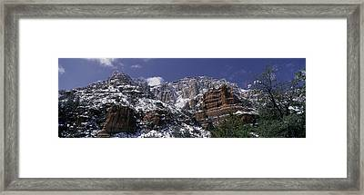 These Are The Red Rocks Of Sedona Framed Print by Panoramic Images