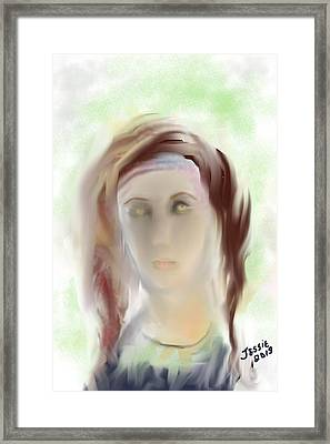 These Eyes Framed Print by Jessica Wright