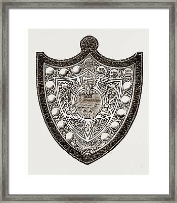 These Indicate That The Honourable Artillery Have Won Framed Print by Litz Collection