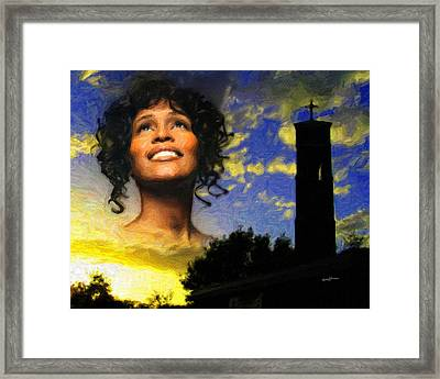 Thevoice Framed Print by Anthony Caruso