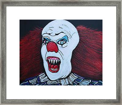They All Float Framed Print