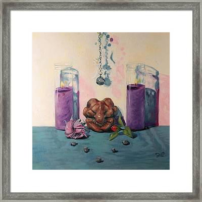They Are Gone We Are Here Framed Print by Shelley Irish