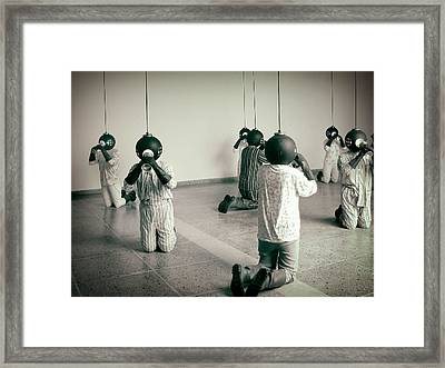 They Are Here  Framed Print by A Rey