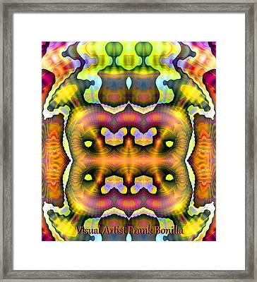 They Are Here Framed Print by Visual Artist Frank Bonilla