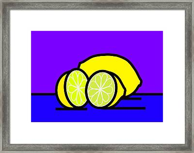 They Call Me Mellow Yellow Framed Print by Kenneth North