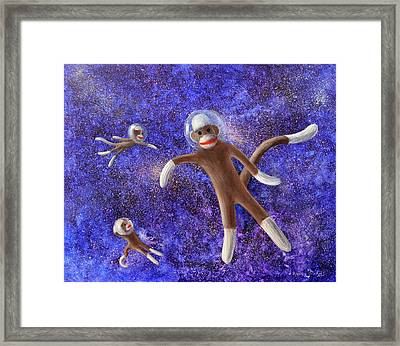 They Came From Outer Space Framed Print