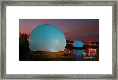 They Have Arrived Framed Print by John Malone