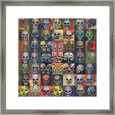 They Framed Print by KD Neeley