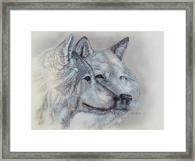 They Mate For Life Framed Print