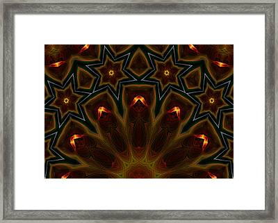 They Rise From The Deep Framed Print