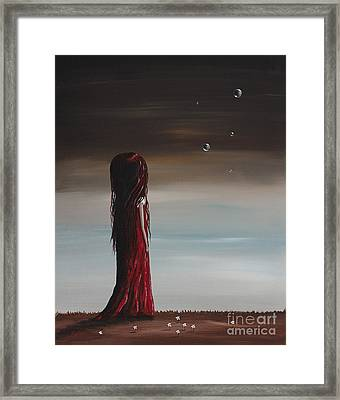 They Say She's A Dreamer By Shawna Erback Framed Print by Shawna Erback