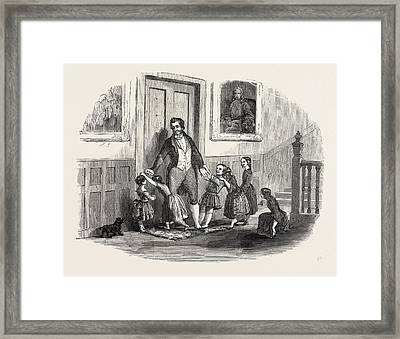 They Were Always Repulsed By A Terrible, Strong-minded Framed Print