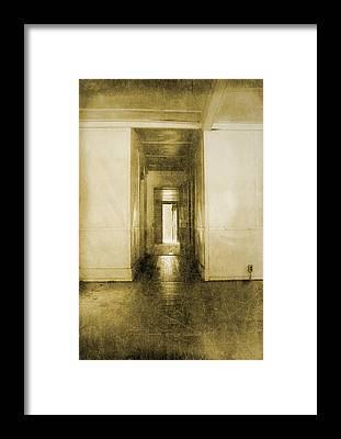 Abandoned Elkmont Framed Prints