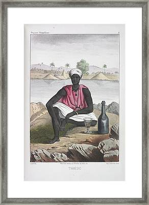 Thiedo Framed Print by British Library