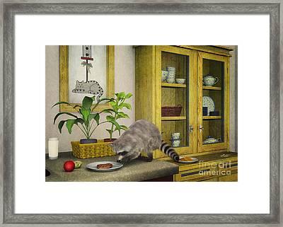 Thief Framed Print by Jutta Maria Pusl