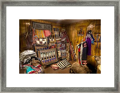 Thin Bear Trading Post Utah Framed Print
