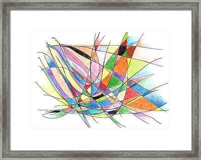 Thing Are Always Working Out For Me Framed Print by Alla Ilencikova
