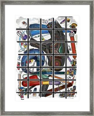 Thingamagig #1 Framed Print by George Curington