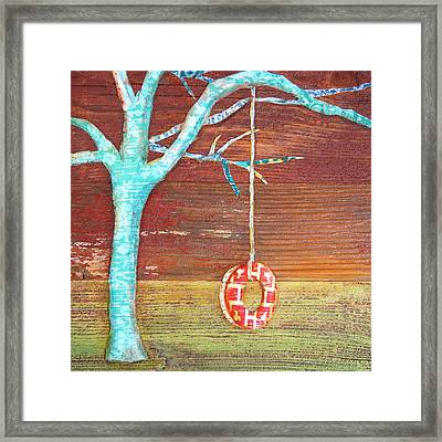 Things Will Swing Around Framed Print