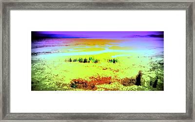 let's go to Thingvellir, where the world goes apart  Framed Print