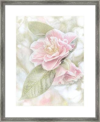 Framed Print featuring the photograph Think Pink by Peggy Hughes