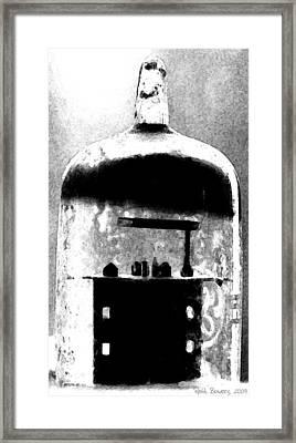 Think Retro Framed Print by Everett Bowers