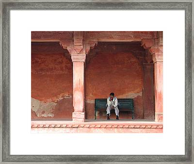Thinking Man Framed Print