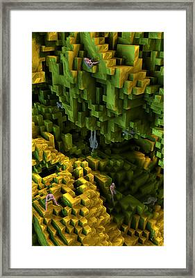Framed Print featuring the digital art Thinkers And Explorers by Matt Lindley