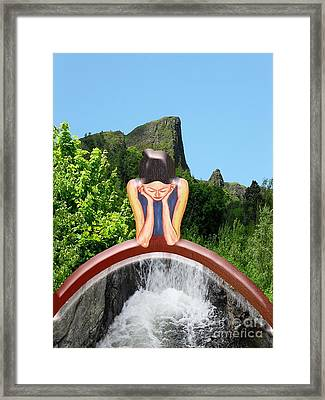 Thinking About You Framed Print by Patrick J Murphy