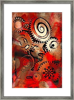Thinking Cap 2 Framed Print