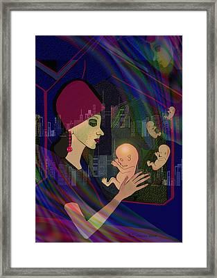 838 - Her Lost Children  Framed Print by Irmgard Schoendorf Welch