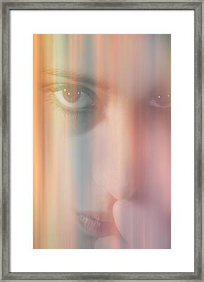 Thinking Of You Framed Print by Nathan Wright
