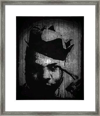 Thinking Out Loud Framed Print by Kamoni Khem