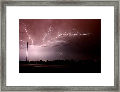 Thinking Outside The Lines Framed Print