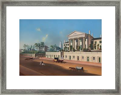 Third And Vine Northside Framed Print by Mountain Dreams