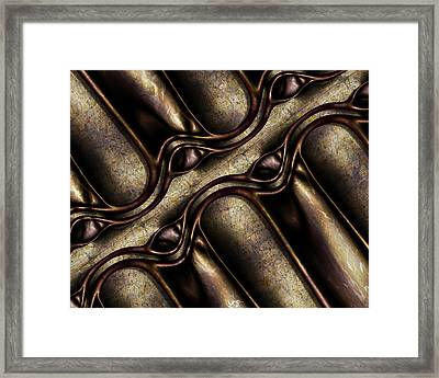 Third And Vine Framed Print by Vic Eberly