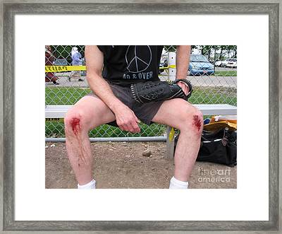 Third Baseman Framed Print