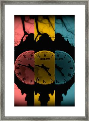 Third Time's The Charm Framed Print